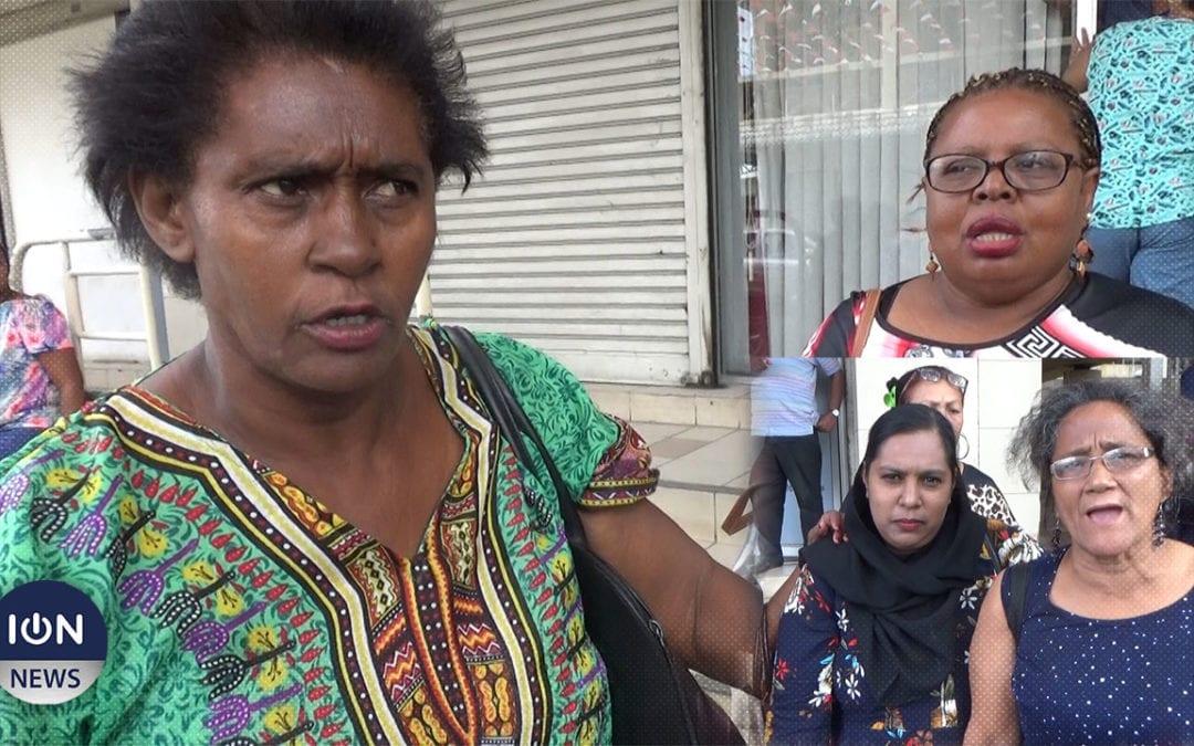 [Vidéo] «Ki Alain Wong revini!» réclament des mandantes de GRNO/Port-Louis Ouest