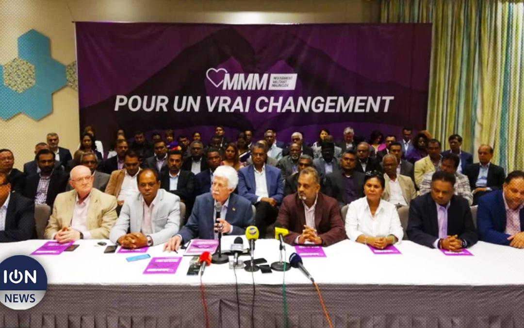 [Live] Le MMM dévoile son manifeste électoral complet