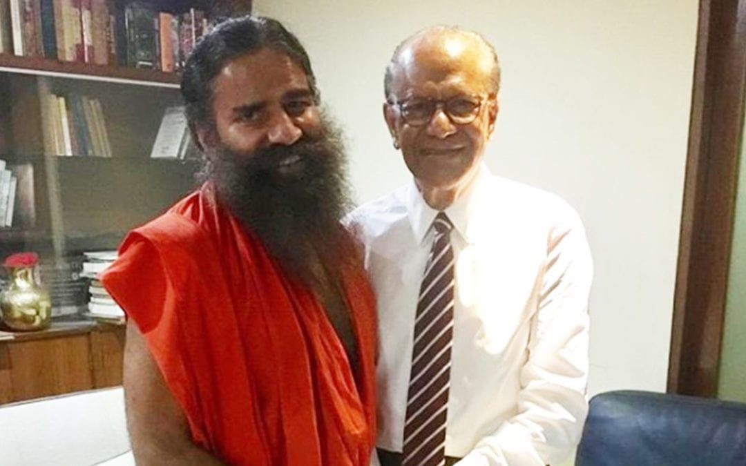A un mois des législatives, Ramgoolam reçoit la bénédiction de Baba Ramdev