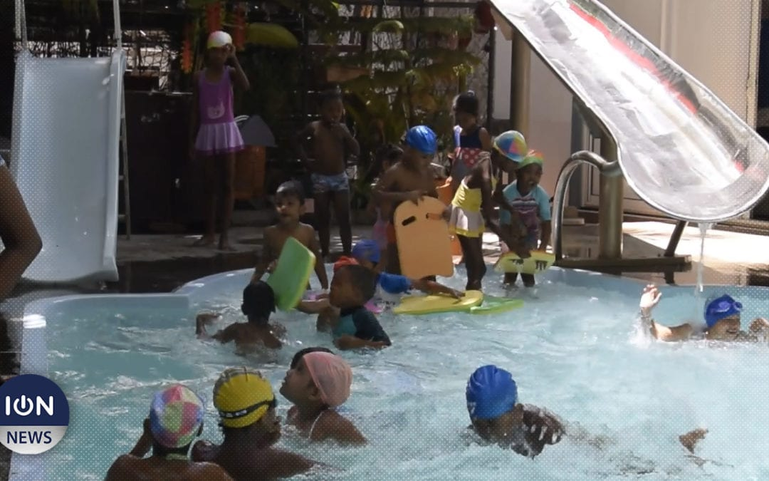 [Vidéo] Jeux, danse, piscine… : Le programme spécial vacances de l'Atelier des artistes