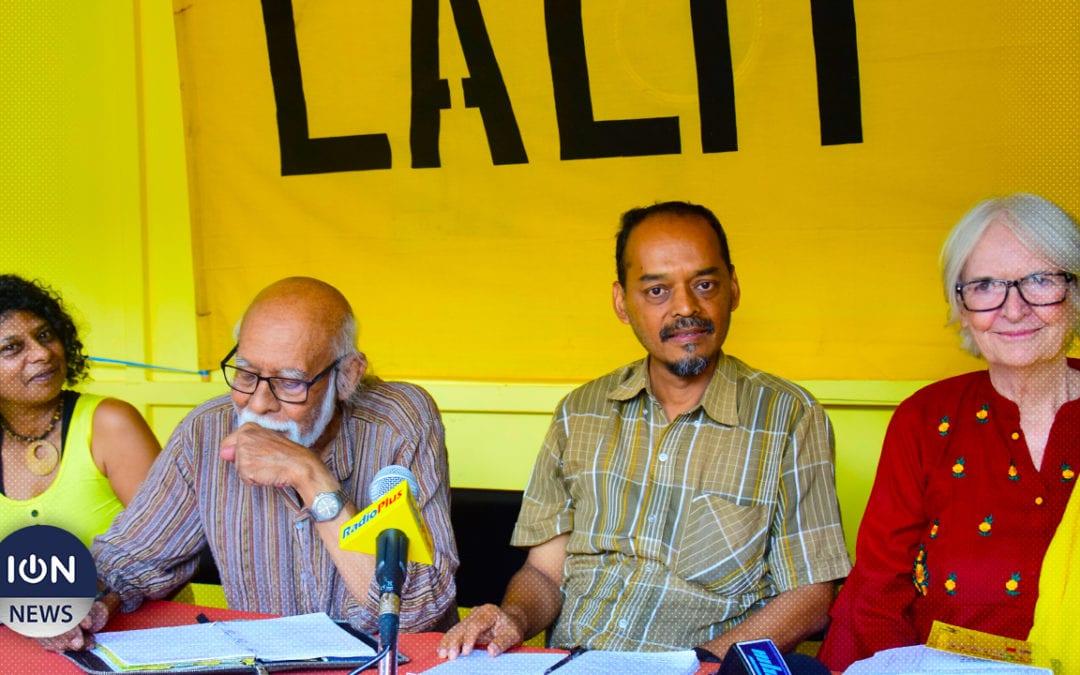 [Vidéo] Lalit : Jugnauth, Ramgoolam et Bérenger sont des «hommes désespérés»