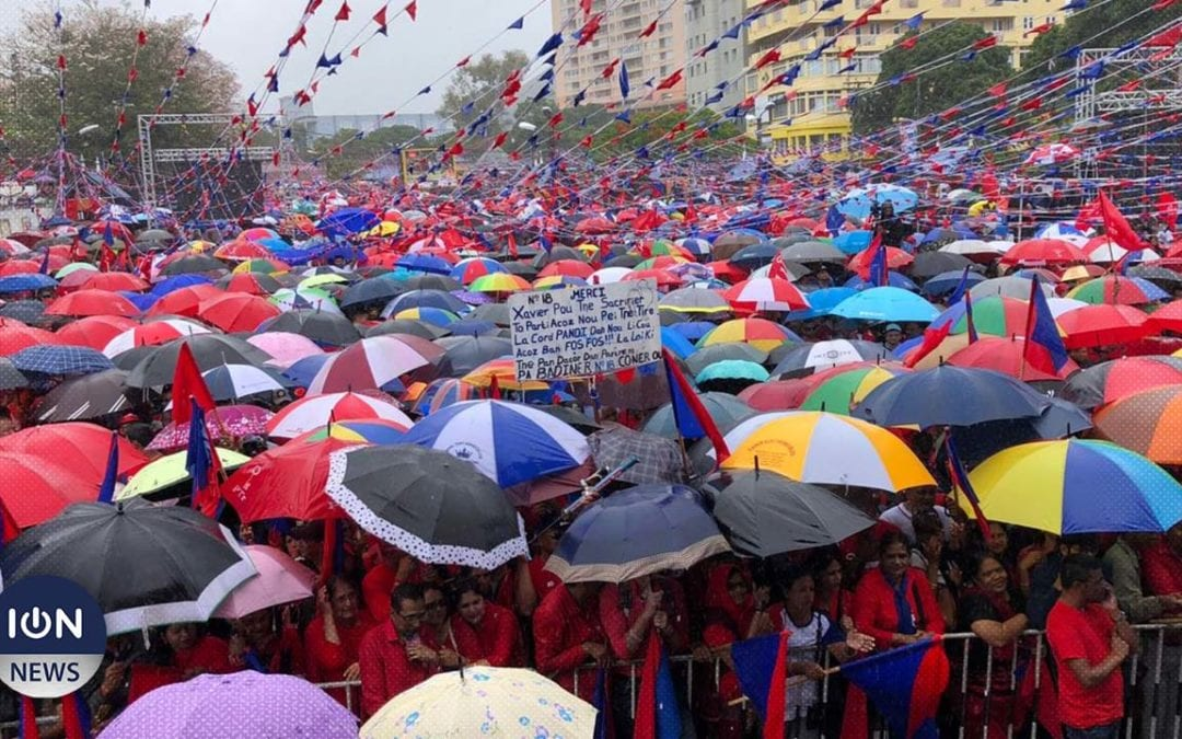 [Live] Grand meeting de l'Alliance Nationale à Quatre-Bornes à quelques jours des législatives