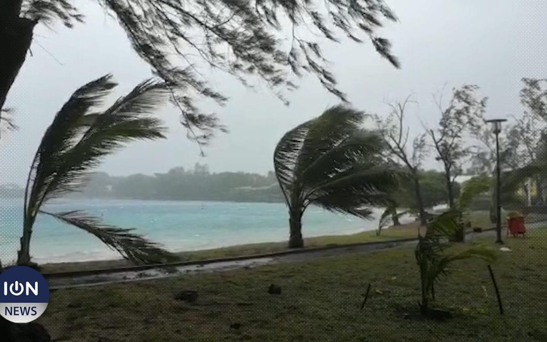 La dépression tropicale au nord-est de St Brandon a été baptisée 'Eloise'