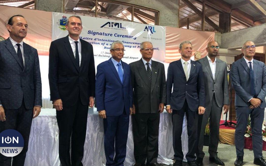 [Audio] Rodrigues : La nouvelle piste d'atterrissage une réalité d'ici fin 2023