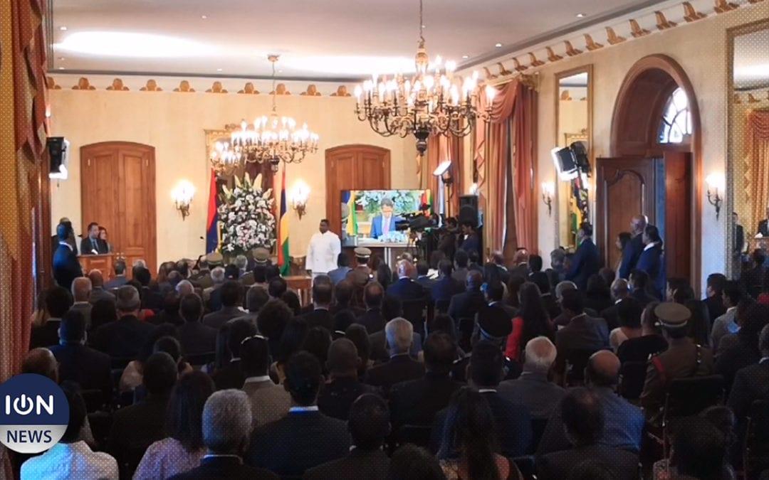 [Live] Pradeep Roopun et Eddy Boissezon prêtent serment comme président et vice-président de la République