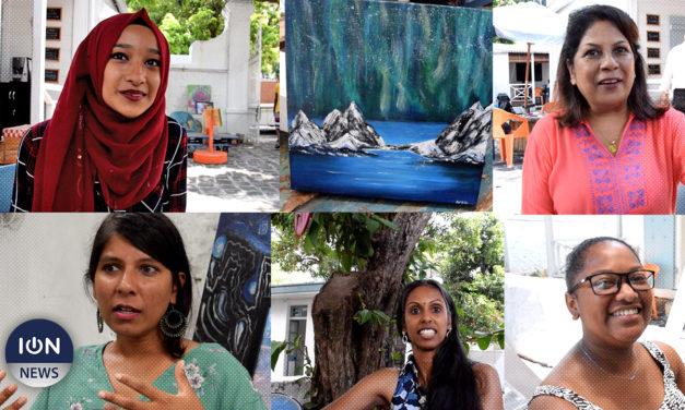 [VIDÉO] A Port-Louis: Une exposition dédiée aux artistes débutants souhaitant se faire connaître