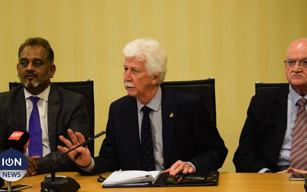 [Vidéo] Bérenger : Nous ne sommes pas d'accord avec le choix de Roopun et Boissezon
