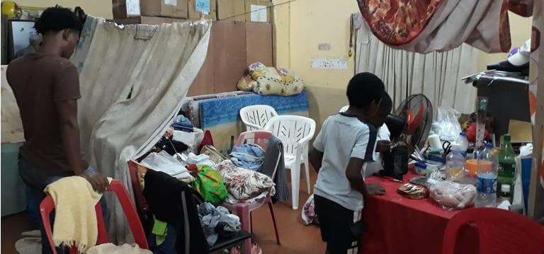 Calvinia : Personne ne s'est rendu dans les centres de refuge