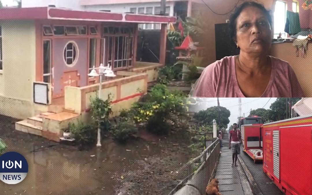 [Vidéo] Moins d'une dizaine de maisons inondées à Fond-du-Sac