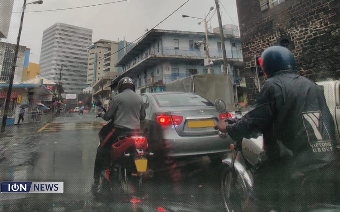 L'avis de fortes pluies prolongé à 22 heures ce 22 janvier