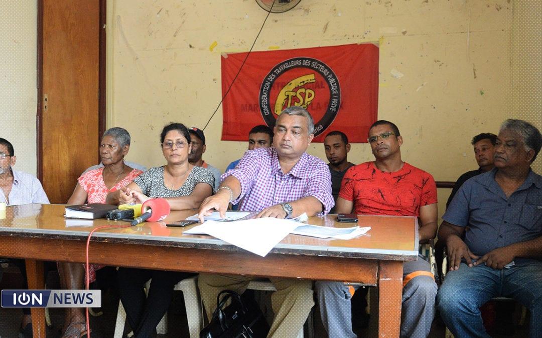 [Vidéo] La CTSP contre une compensation inférieure aux ouvriers étrangers