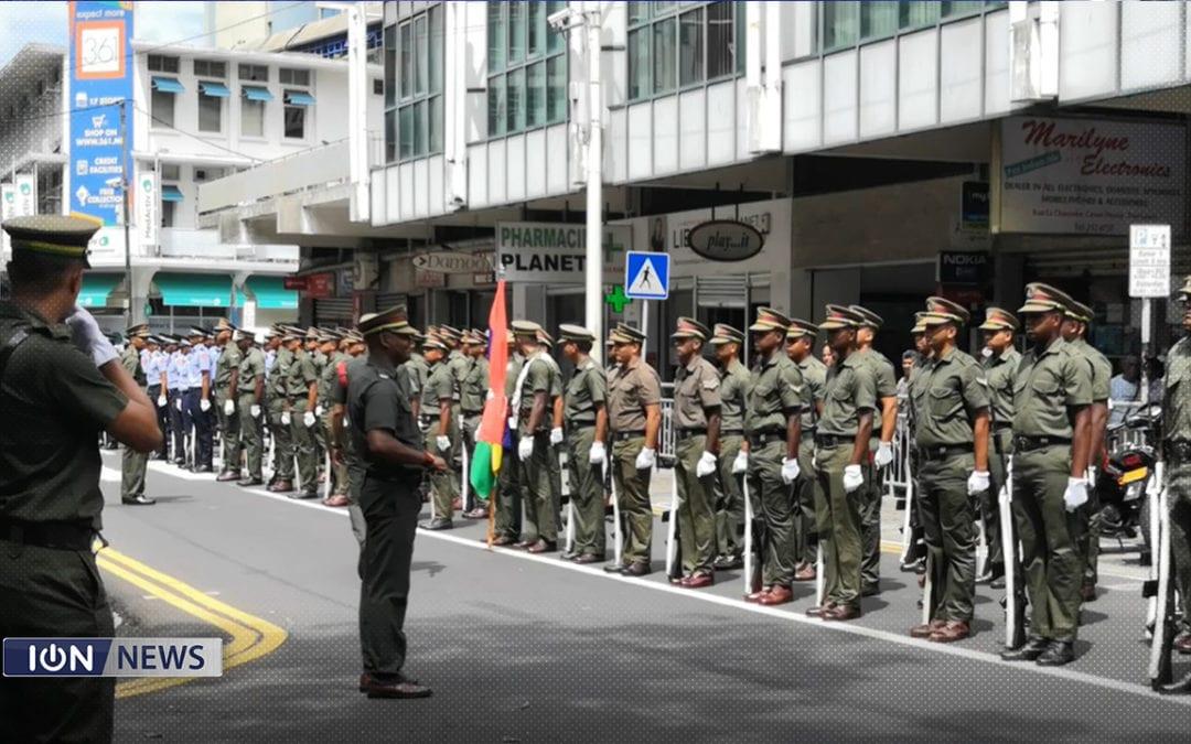 [Vidéo] Répétition générale de la police pour la parade du discours programme