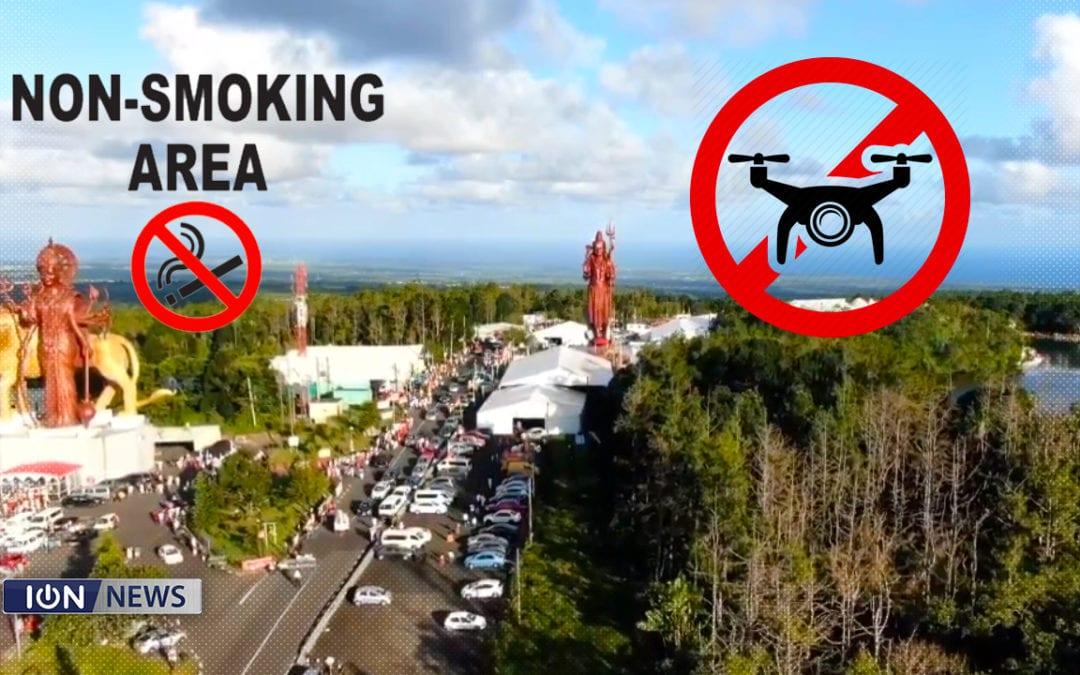 [Audio] Fumer et drones sont interdits à Grand-Bassin