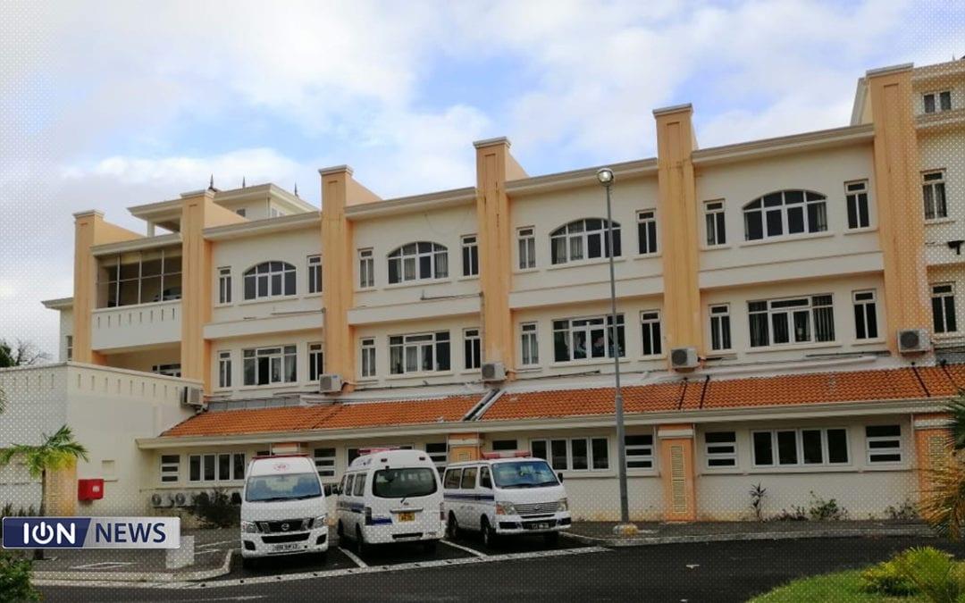 1 cas positif a été recensé suite a un dépistage de routine pour les employés du ministère travaillant au New Souillac Hospital