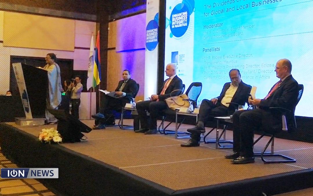 [Vidéo] Jugnauth souligne le rôle essentiel du secteur privé dans la lutte contre la corruption