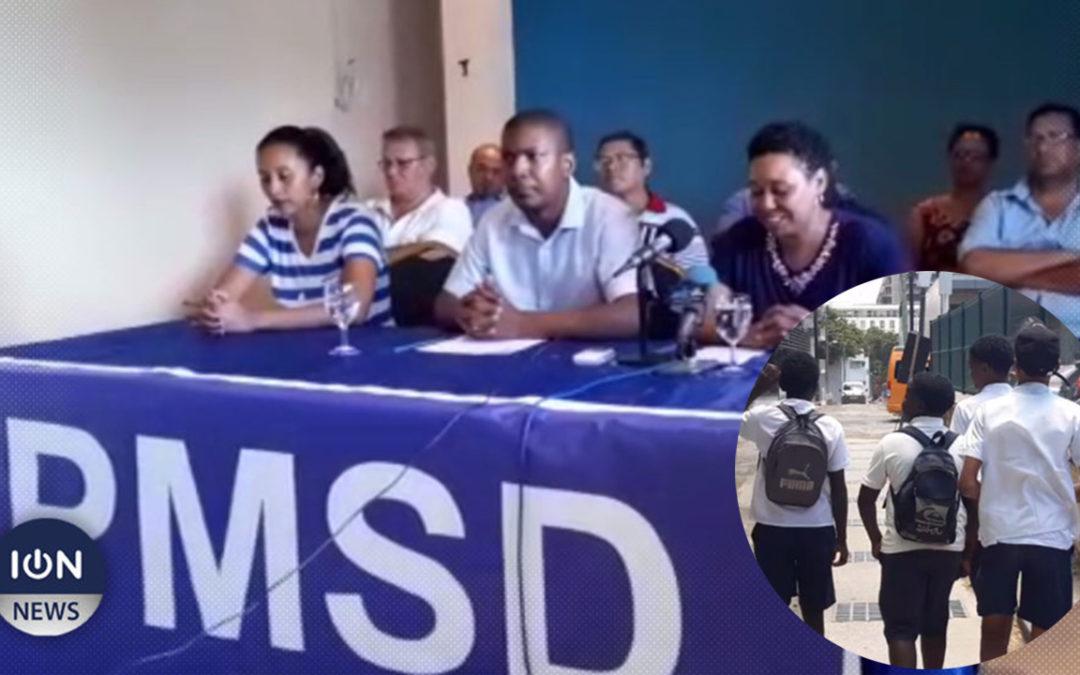 [Audio] Education : Le PMSD Rodrigues s'inquiète pour l'avenir des jeunes