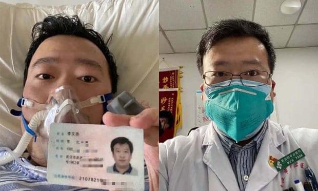 Le médecin qui a révélé l'épidémie du virus de Wuhan emporté par la maladie