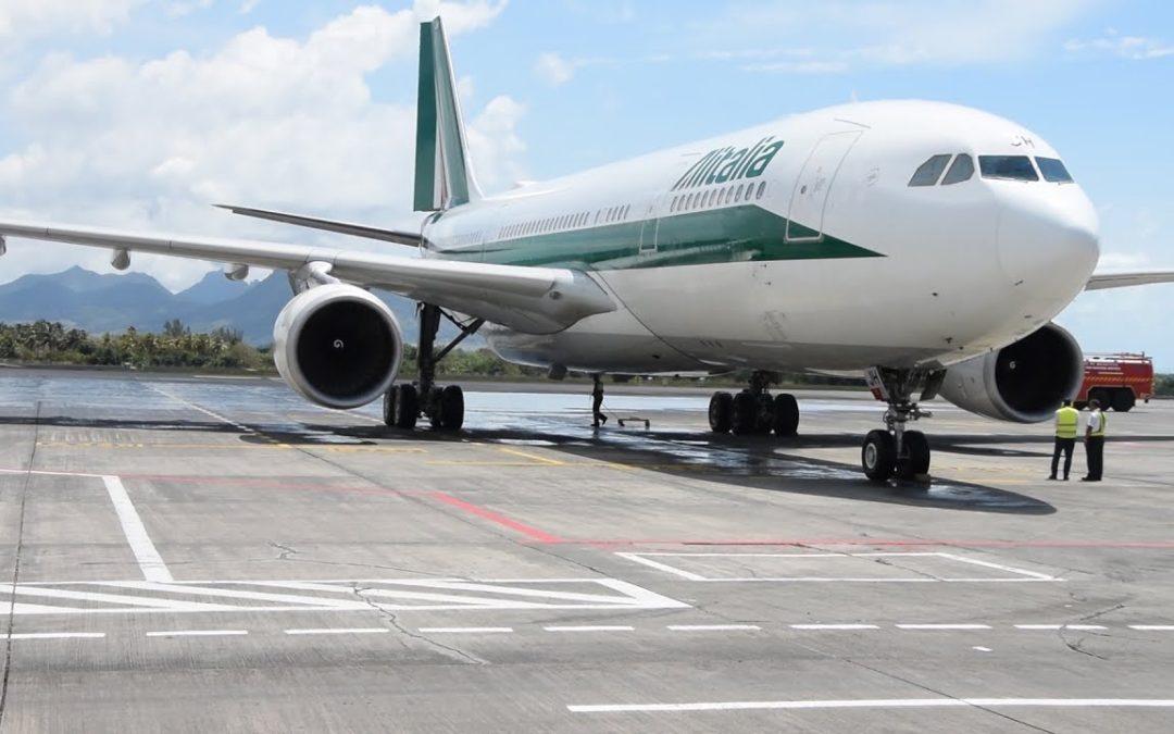 Coronavirus de Wuhan : un contrôle sanitaire sur un vol d'Alitalia à l'aéroport de Plaisance
