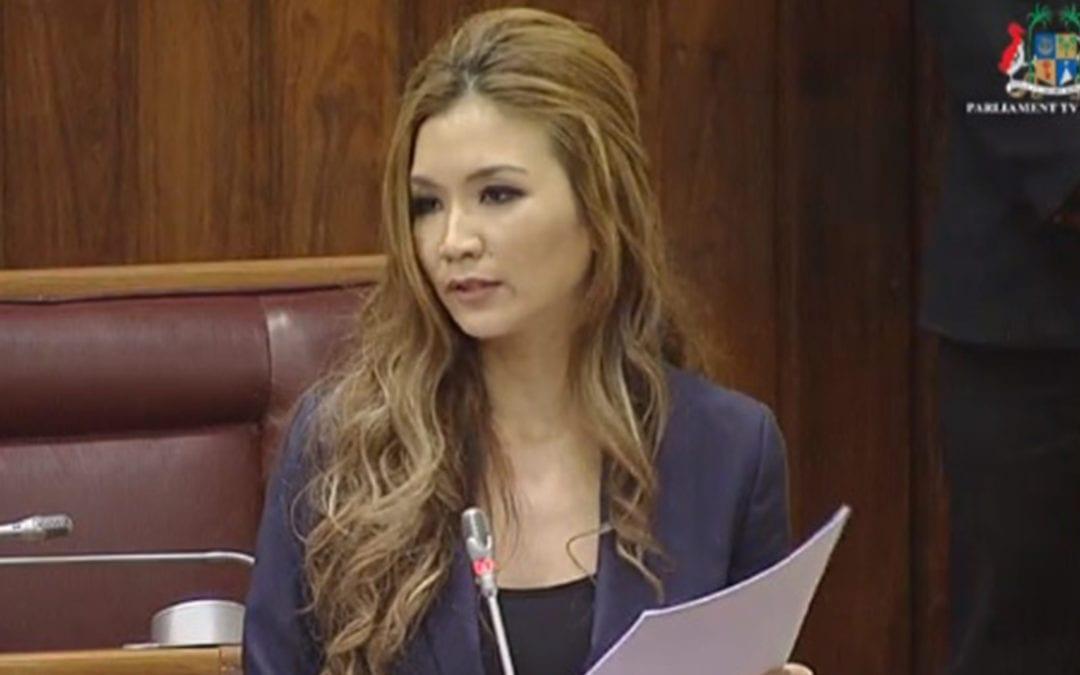 Représentativité des femmes au Parlement: Le plaidoyer de Karen Foo Kune