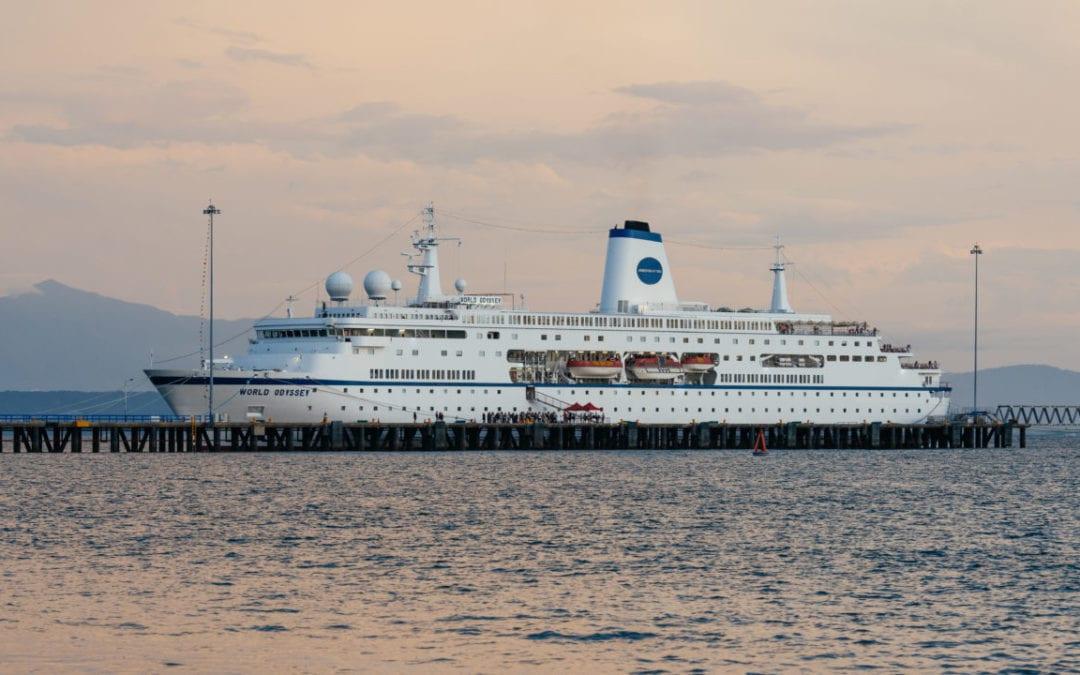 Covid-19: les passagers du MV World Odyssey seront bientôt testés à Port-Louis