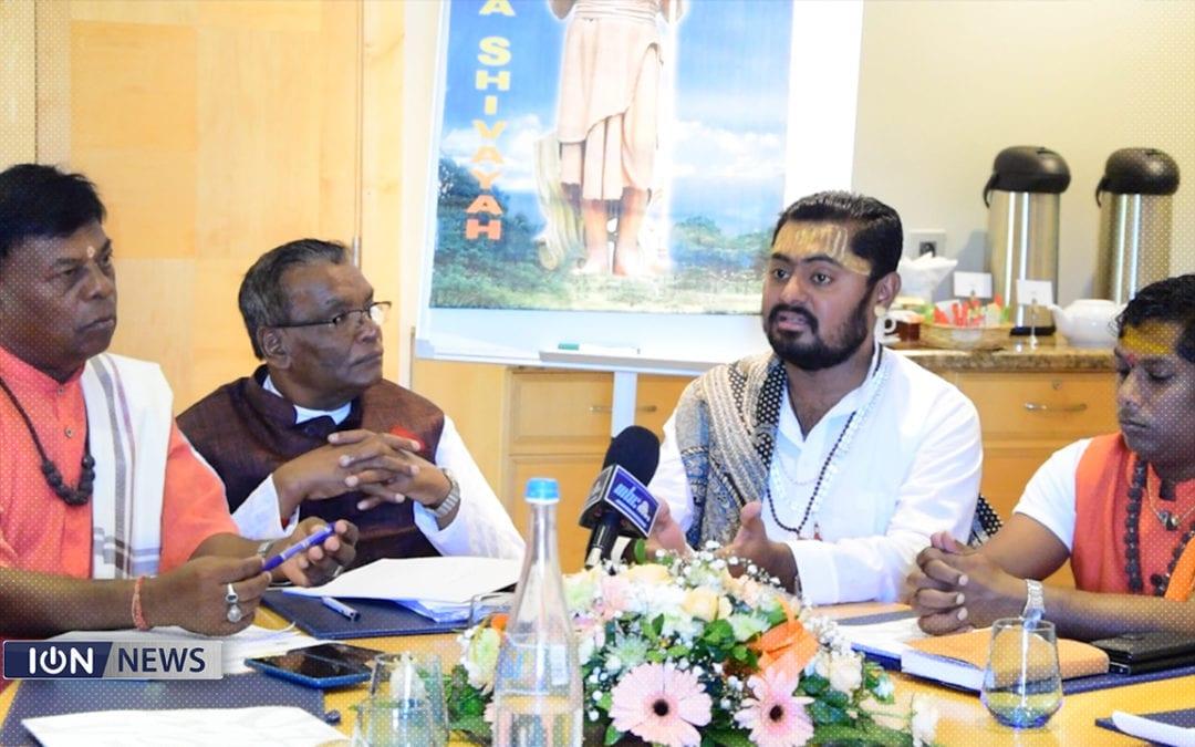 [Vidéo] Un Shivalinga de 4,8 mètres sera construit avec 2000 kilos de perles de Rudraksh