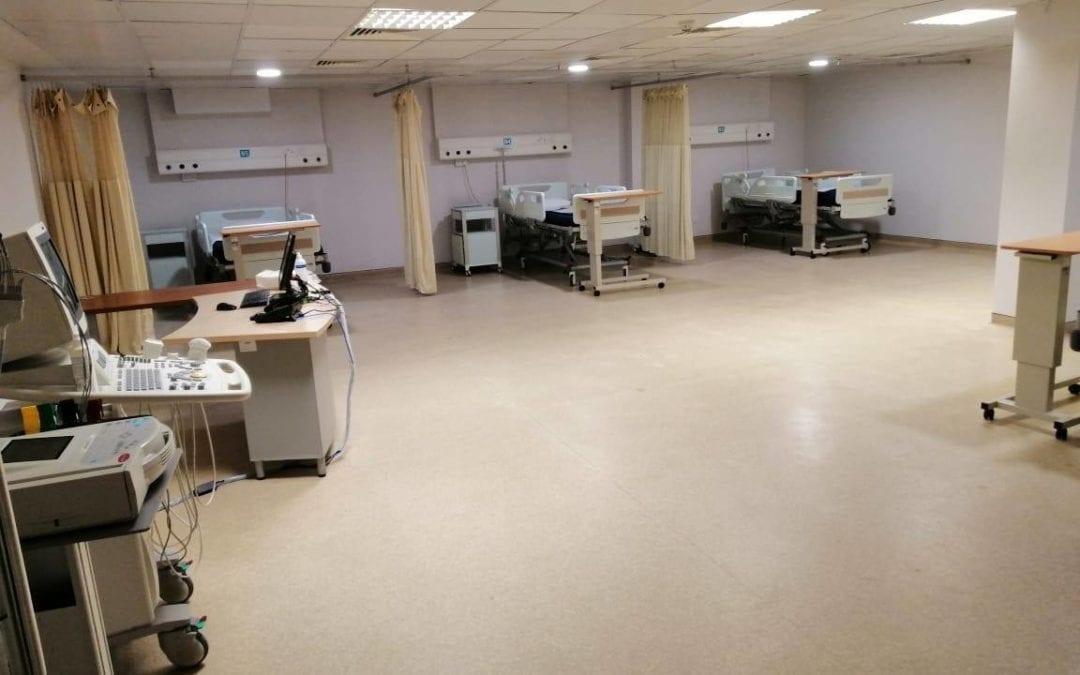 Wellkin Hospital accueillera des patients atteints du Covid-19 la semaine prochaine