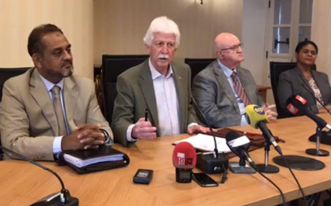 [Vidéo] Covid-19: Bérenger demande au gouvernement d'aider les Mauriciens bloqués à l'étranger et les salariés