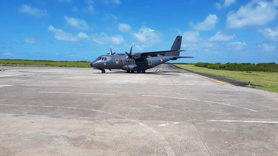 Covid-19: Un avion militaire à Rodrigues pour rapatrier onze touristes français