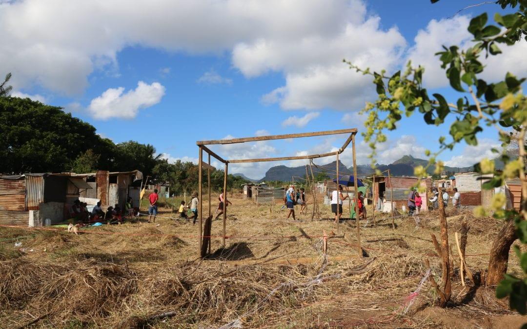 Un recensement dénombre 65 familles de squatters à Pointe-aux-Sables