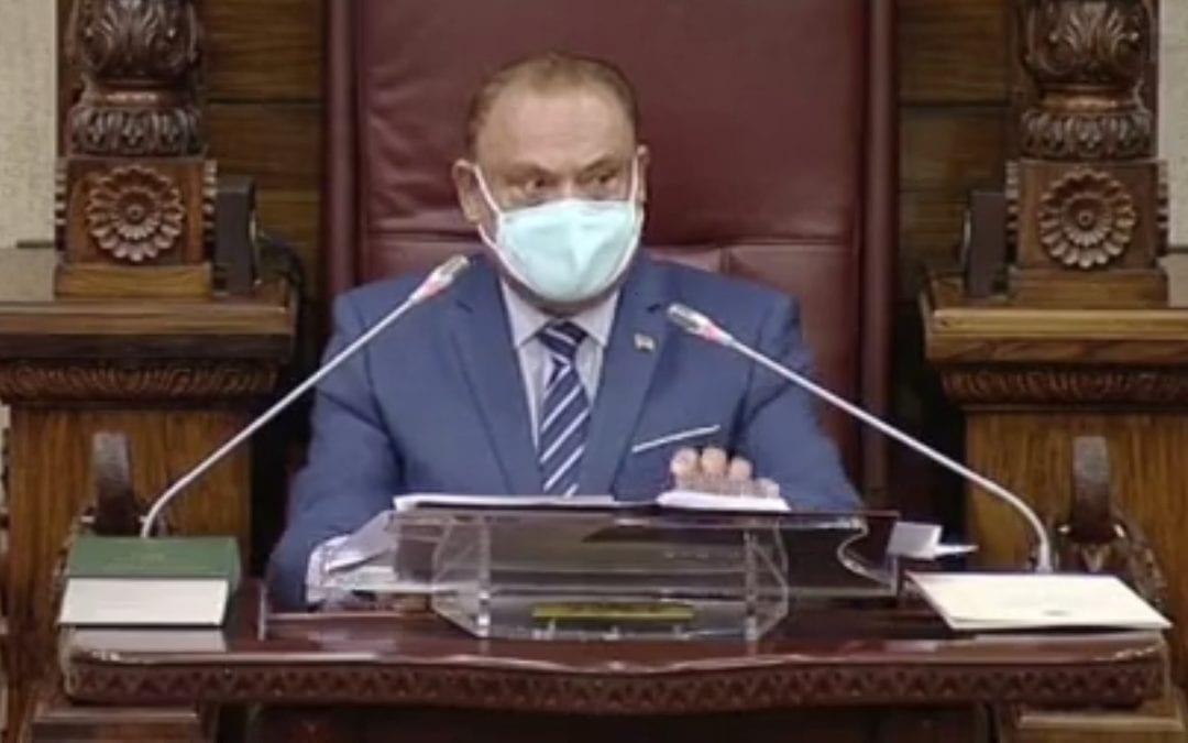 Parlement : Bérenger expulsé après avoir traité le Speaker de «mal élevé», l'opposition solidaire