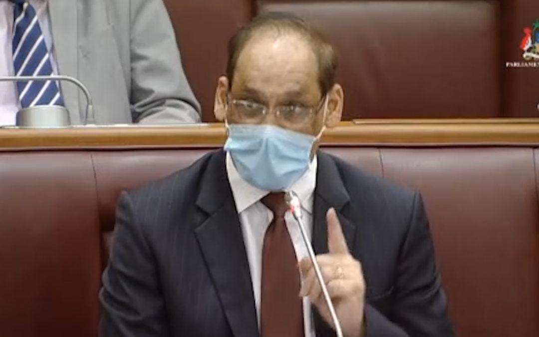 [Vidéo] PNQ: Seeruttun accuse l'opposition de «petty politics» et de ne pas avoir agi entre 2008 et 2012