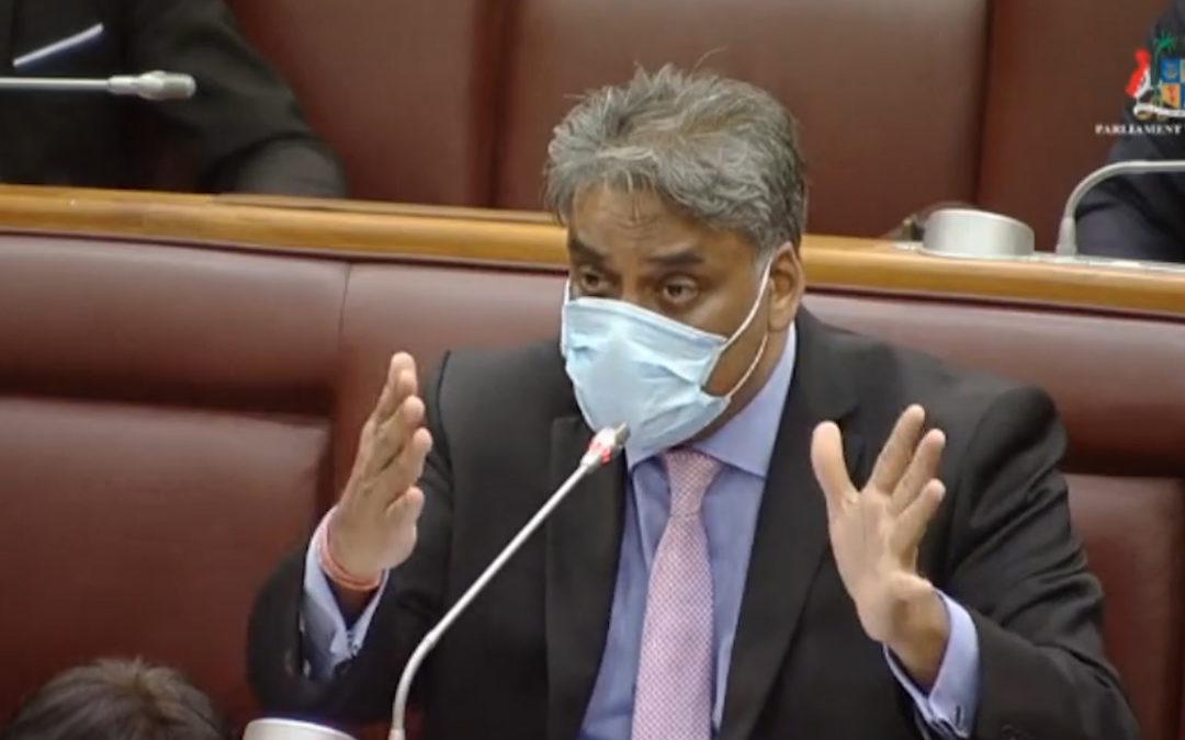 [Vidéo] Gobin réitère les excuses du gouvernement au MMM, après le faux pas de Callichurn