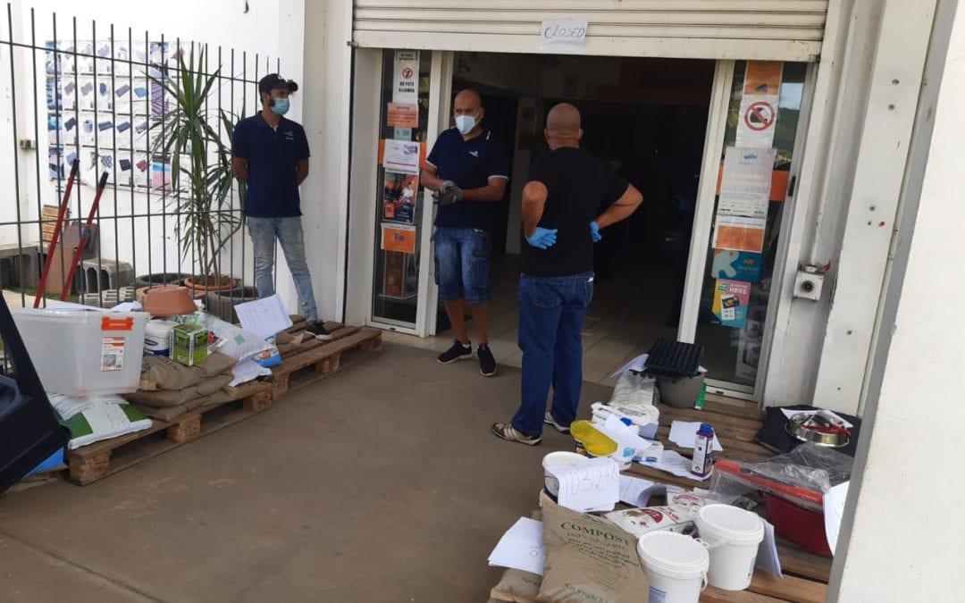 Covid-19: Deux Managers et un vigile d'Espace Maison de Tamarin verbalisés