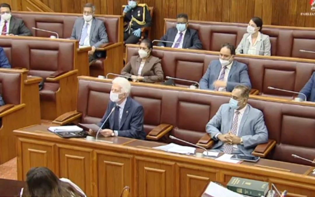 Au parlement ce mardi: Affaire Telegram, rapport du PRB, license fees des Radios Privées