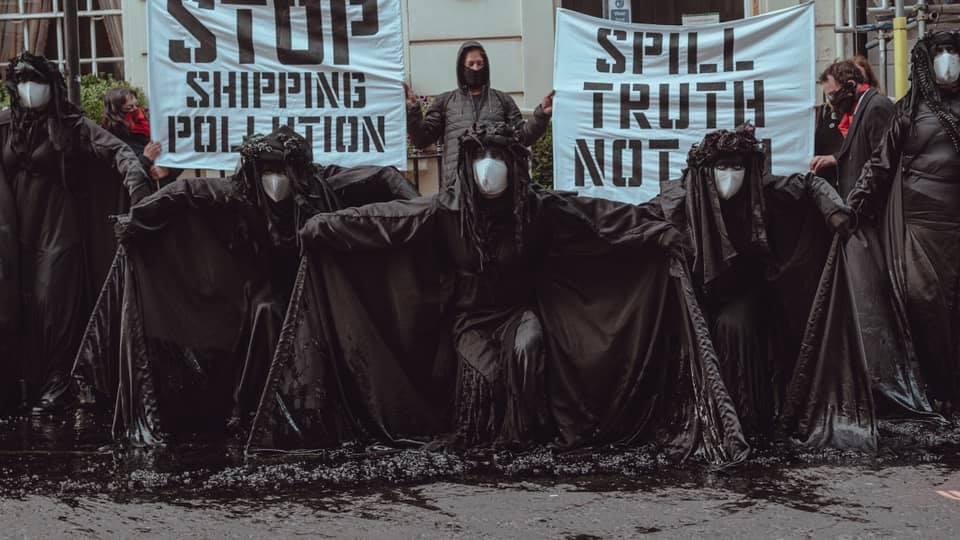 [Angleterre] Ocean Rebellion : « Ne laissons pas les industries de transport corrompues détruire notre environnement »