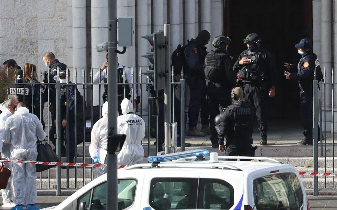 [France] Attaque à Notre-Dame de Nice : trois morts, l'auteur grièvement blessé