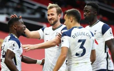 Tottenham corrige Manchester United