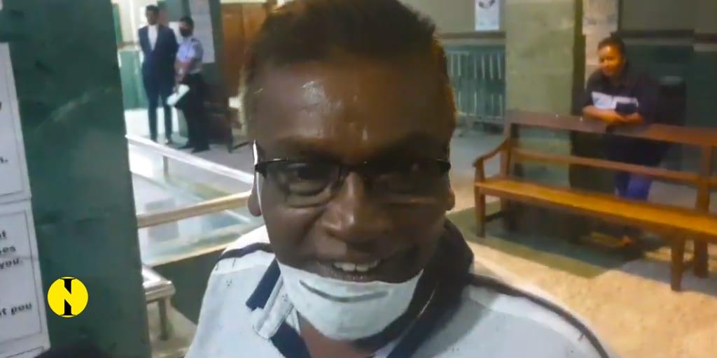 [Vidéo] Bissoon Mungroo s'exprime à sa sortie du tribunal