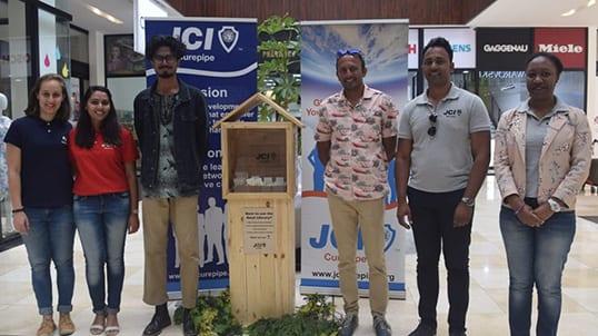 La JCI de Curepipe ouvre sa première Seed Library