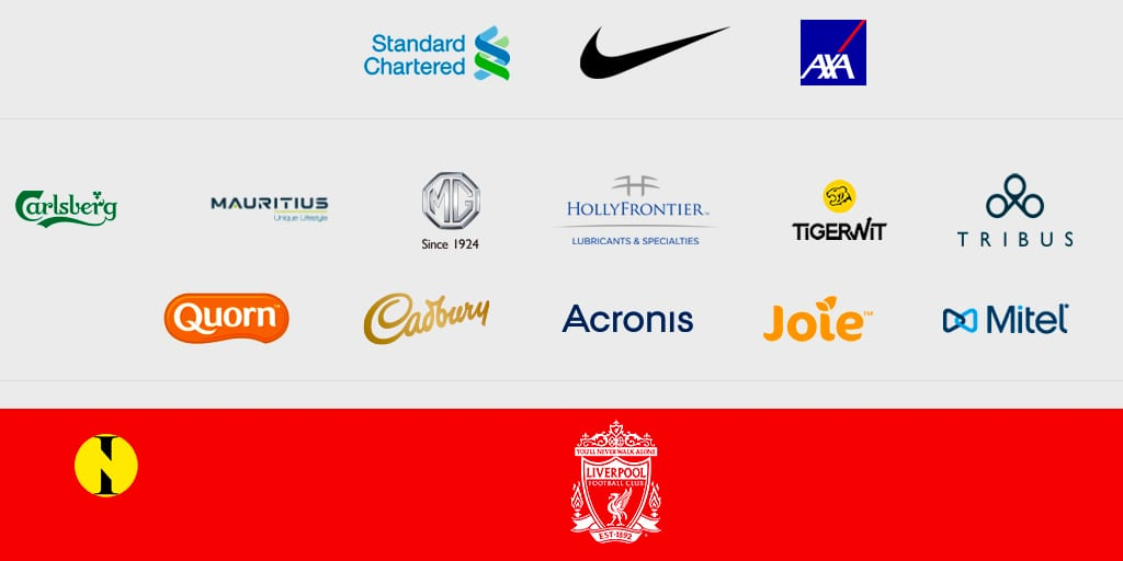 Maurice parmi les partenaires officiels sur le site web de Liverpool
