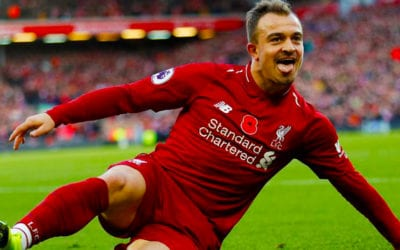 Liverpool: Shaqiri testé positif au Covid-19