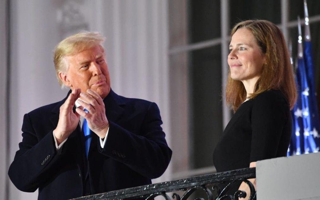 Présidentielle américaine : à une semaine de l'élection, Trump savoure sa victoire à la Cour suprême