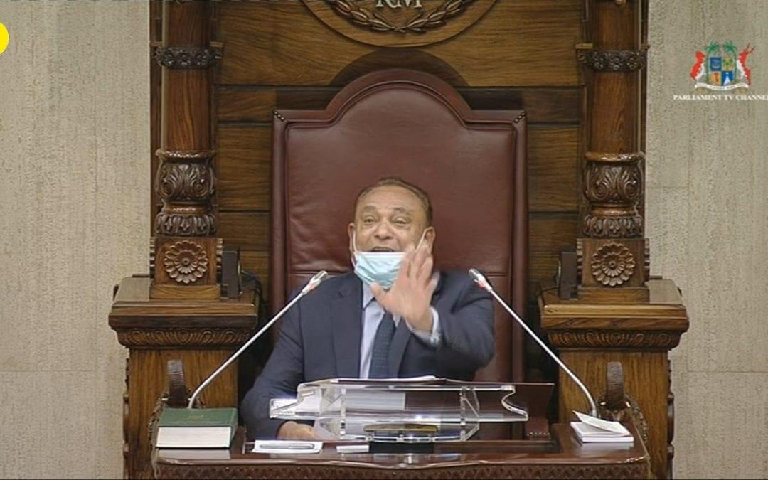 Jurons au Parlement : L'affaire a été référée à la Cyber Crime Unit, annonce le speaker