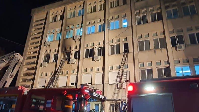 Roumanie : 10 malades du Covid-19 tués dans l'incendie d'un hôpital