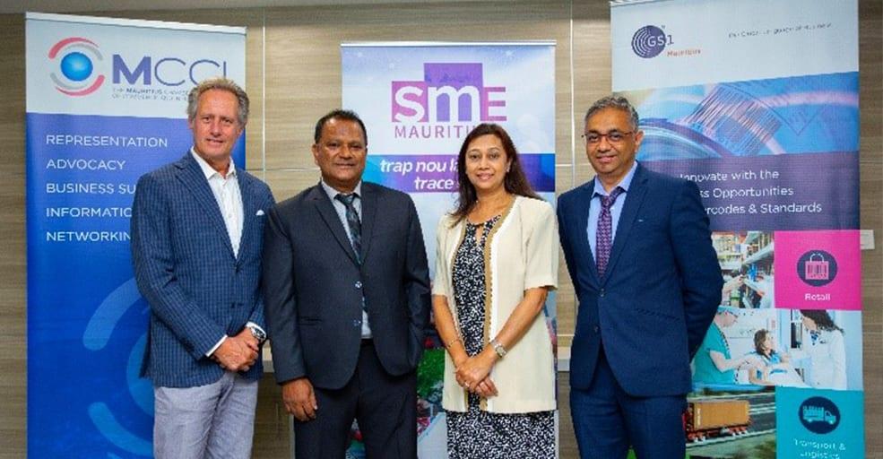 GS1 (Mauritius) Ltd et SME Mauritius Ltd signent un nouveau protocole d'accord