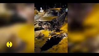 [Vidéo] Accident à Bagatelle : Deux blessés, le chauffeur testé positif à l'alcootest