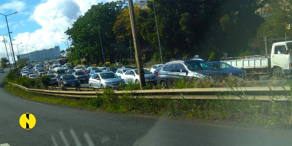 Accident à Pailles : Gros ralentissement dans plusieurs régions
