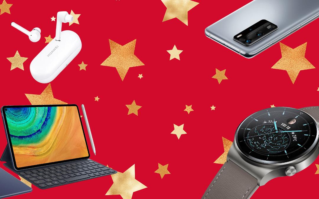 Fêtes de fin d'année : Huawei propose des cadeaux high-tech