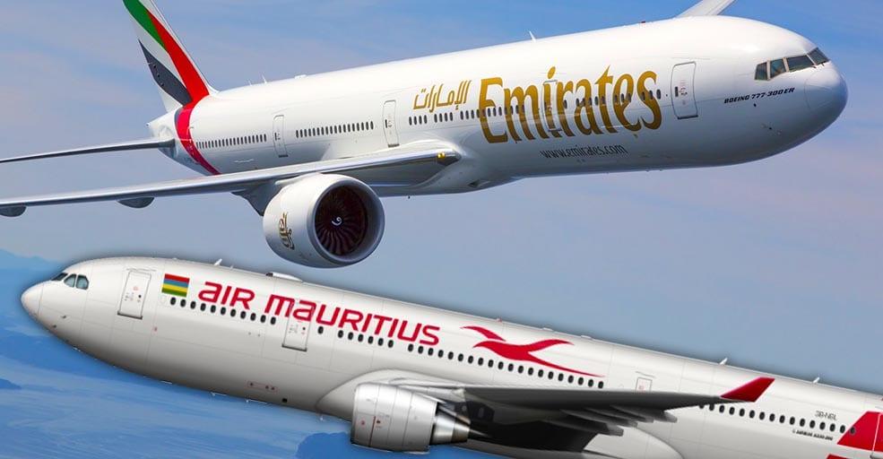 Emirates propose une assistance technique à Air Mauritius