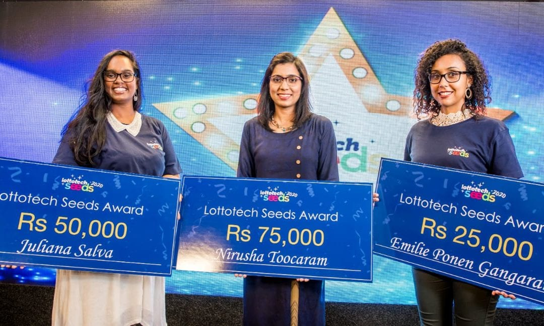 Lottotechseeds : LegalTech, Aeroponics et Weevz récompensées